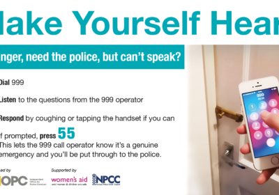 Read more about What to do if you need urgent police help through the 999 service but can't speak